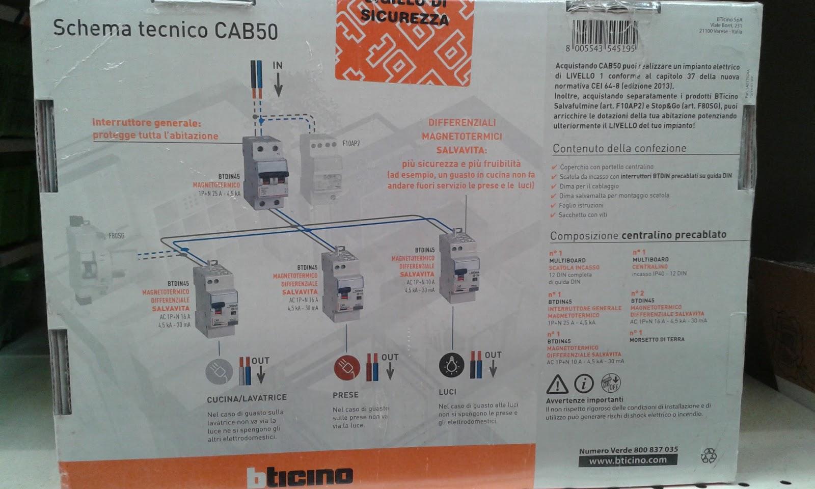 Schema Elettrico Quadro Ats : Come fare impianto elettrico di casa excellent gallery of schema