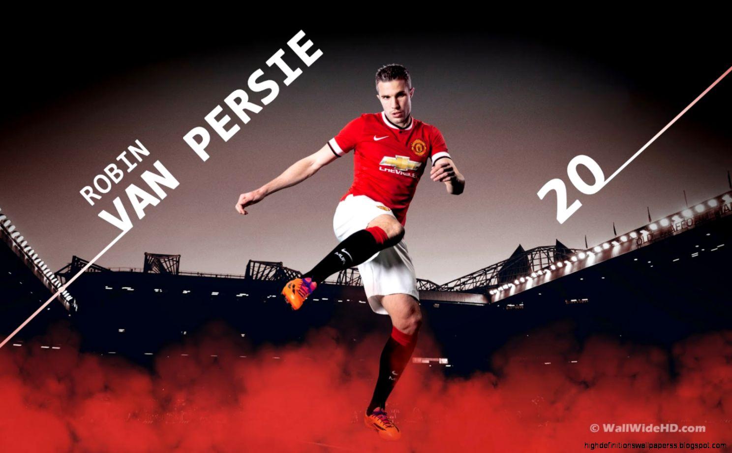 wallpaper manchester united player robin van persie high