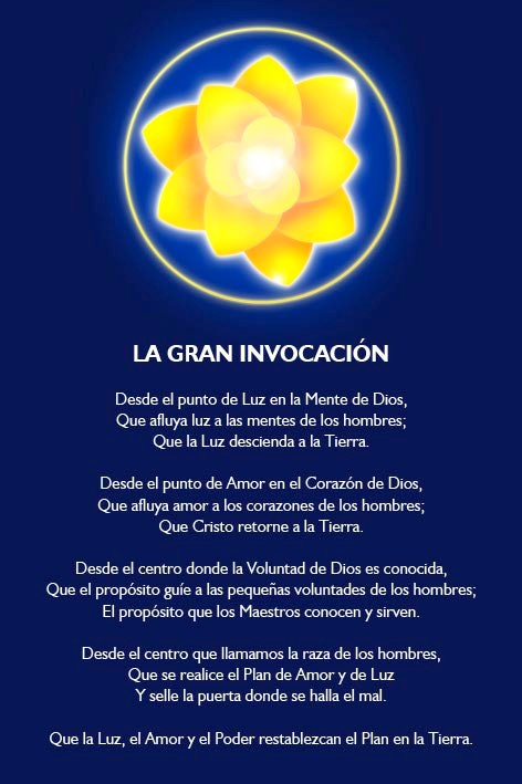Que la Luz, el Amor y el Poder restablezcan el Plan en la Tierra.