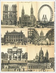 Vintage Paris Postcards