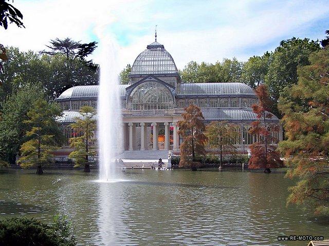 Parque del retiro madrid lugares sorprendentes for Parque del retiro madrid