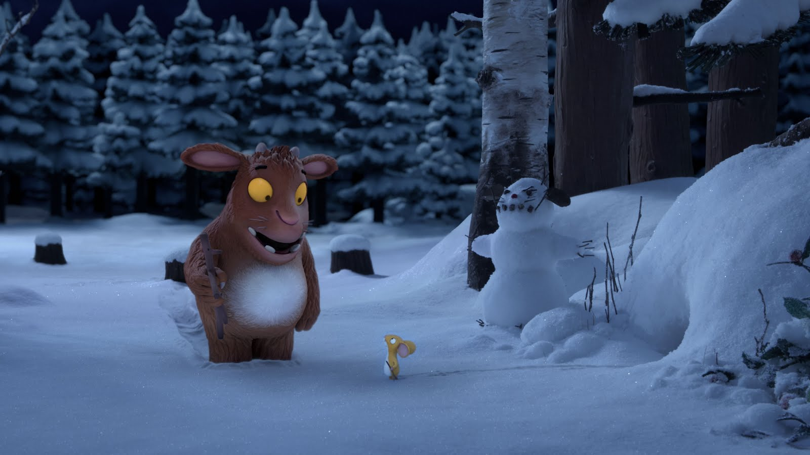 The Gruffalo´s Child and the mouse