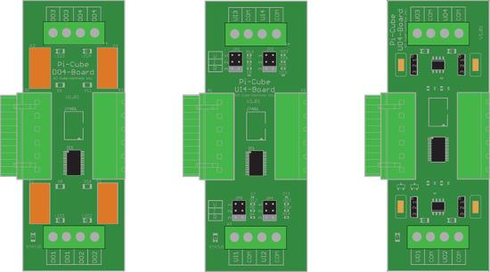 Módulos do Pi Cubes