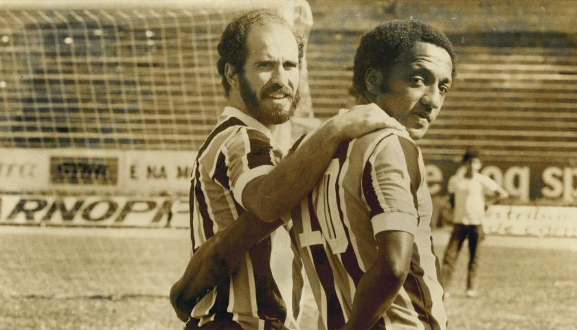Grêmio Campeão do Mundo - 1983  Paulo Cesar Caju e Mário Sérgio c6bee5344617e