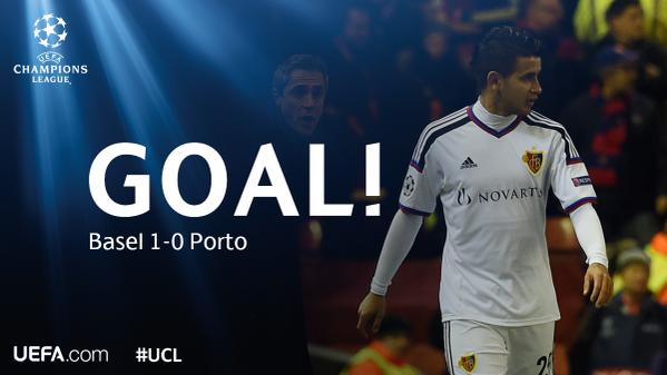 اهداف مباراة بازل  بورتو دور 16 لبطولة دورى ابطال اوربا