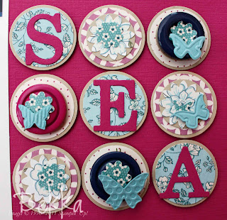 Sea Scrapbook Page Embelishments