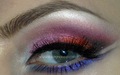 berry makeup look