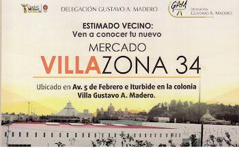 "MERCADO 34 ""VILLA ZONA"""