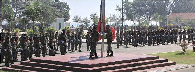 Chefe das Forças Armadas de Moçambique na cerimónia de desmobilização em Timor-Leste