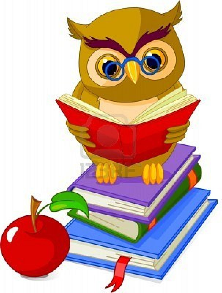 Learning Owl Clip Art