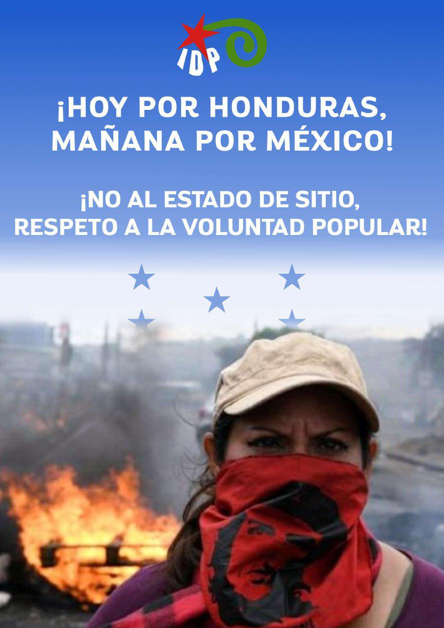 HOY POR HONDURAS, MAÑANA POR MÉXICO