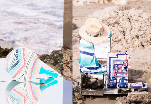 accesorios playa Oysho bolsos sombreros sandalias cangrejeras