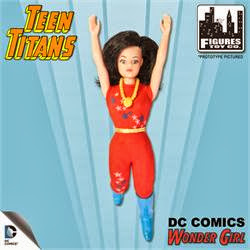Figures Toy Company Retro/Mego Style Teen Titans - Wonder Girl