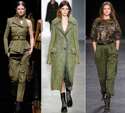 military khaki trend