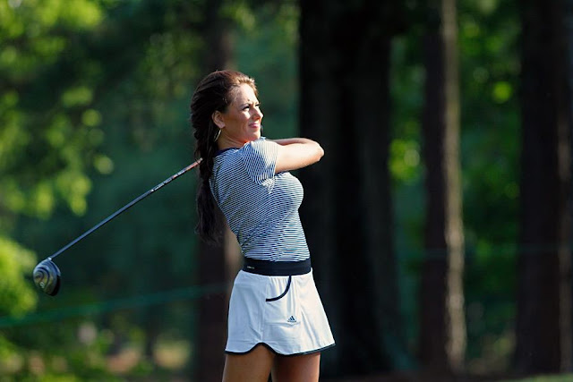 Holly Sonders Michigan State Golf
