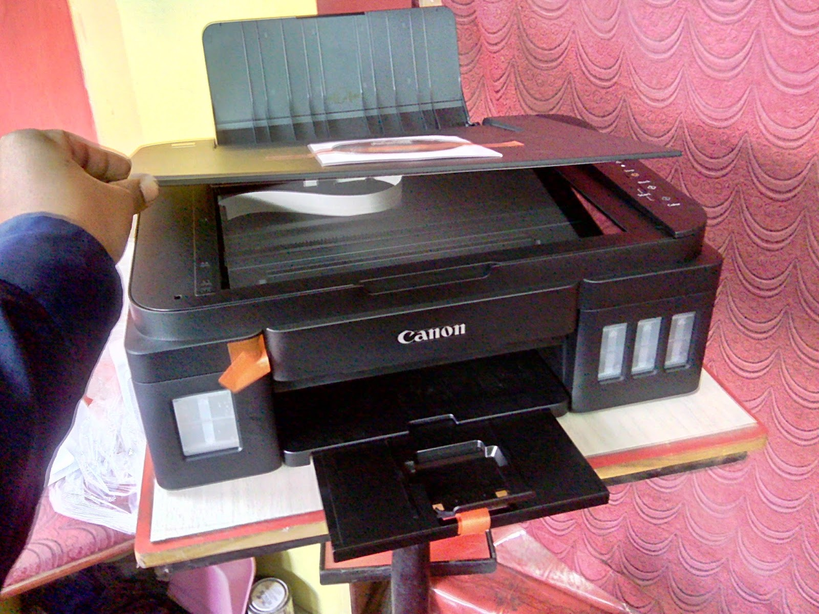 Learn New Things Canon Pixma G2000 Ink Tank All In One Color
