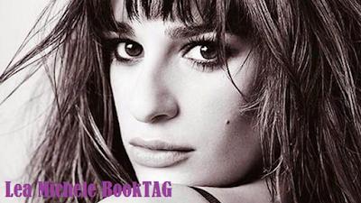 Lea Michele BookTAG