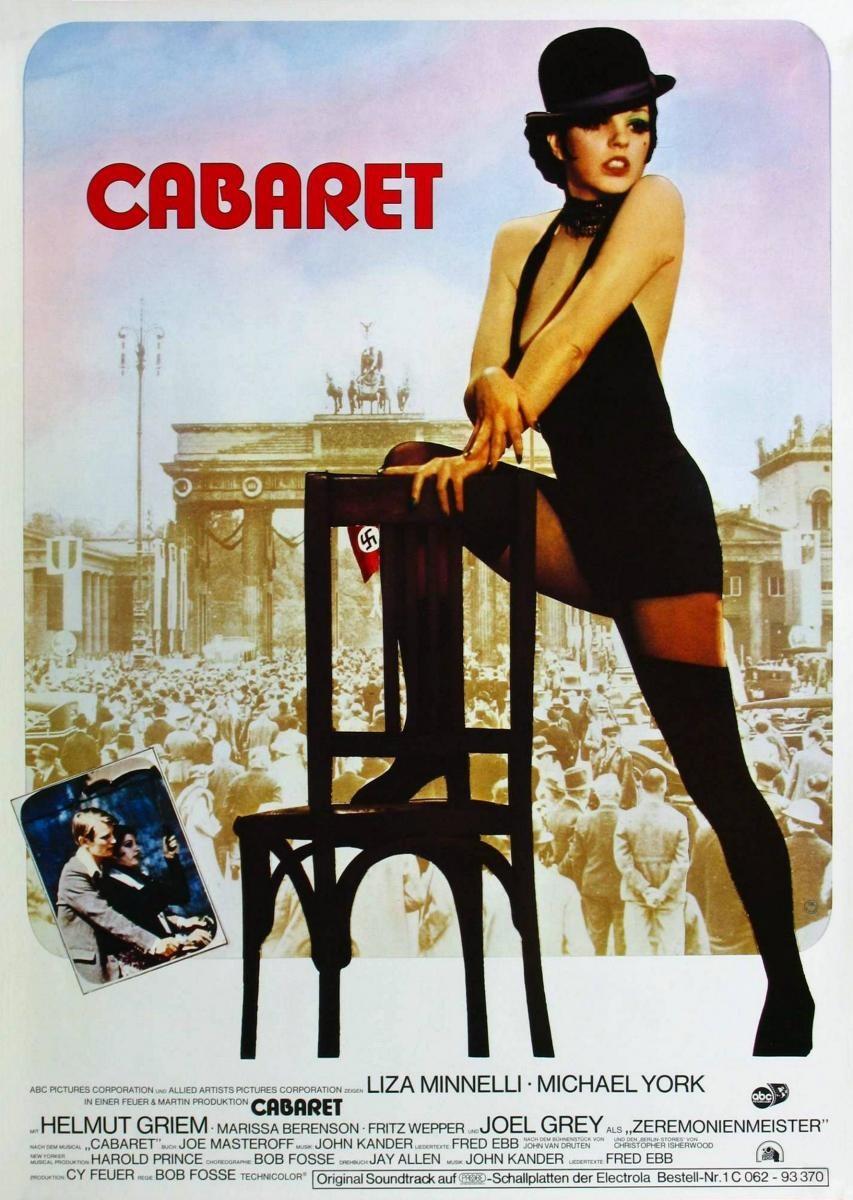 Cine afiche cabaret