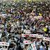 PR Mula Goyang, Puluhan Ribu Rakyat Hadir Bersama PM di Pelabuhan Klang