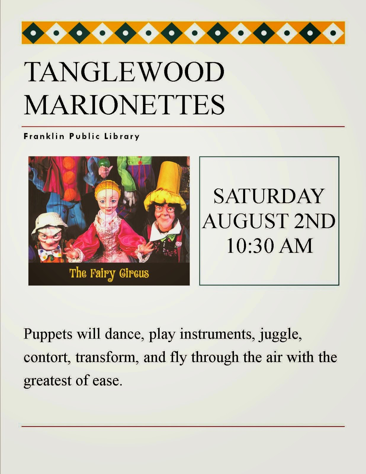 Tanglewood Marionettes