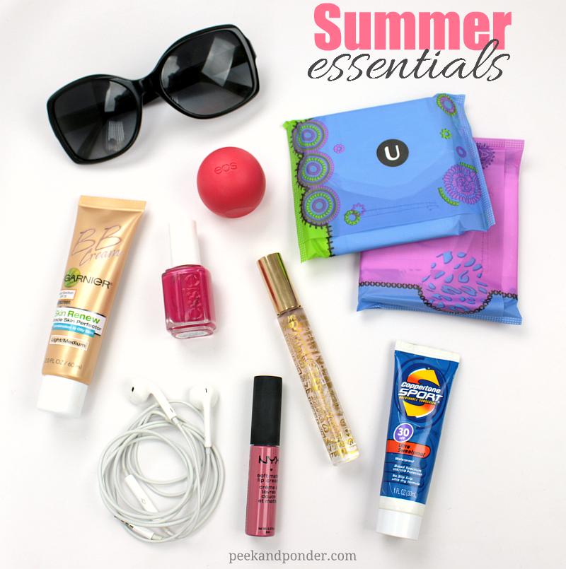 Essentials for summertime