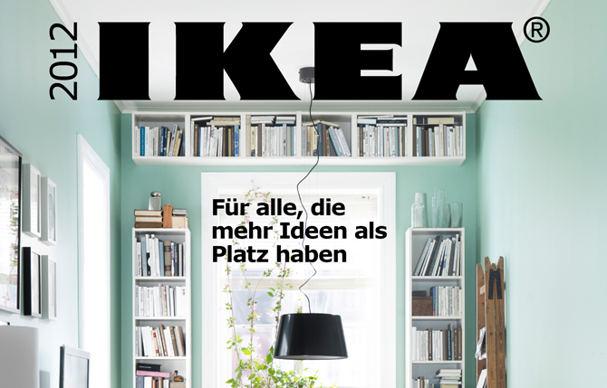 Pin Ikea 2012 Catalogue 2 Preview Small Spaces And On