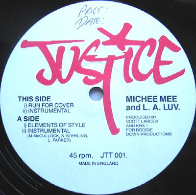 Michie Mee and L.A. Luv – Elements Of Style (VLS) (1987) (320 kbps)