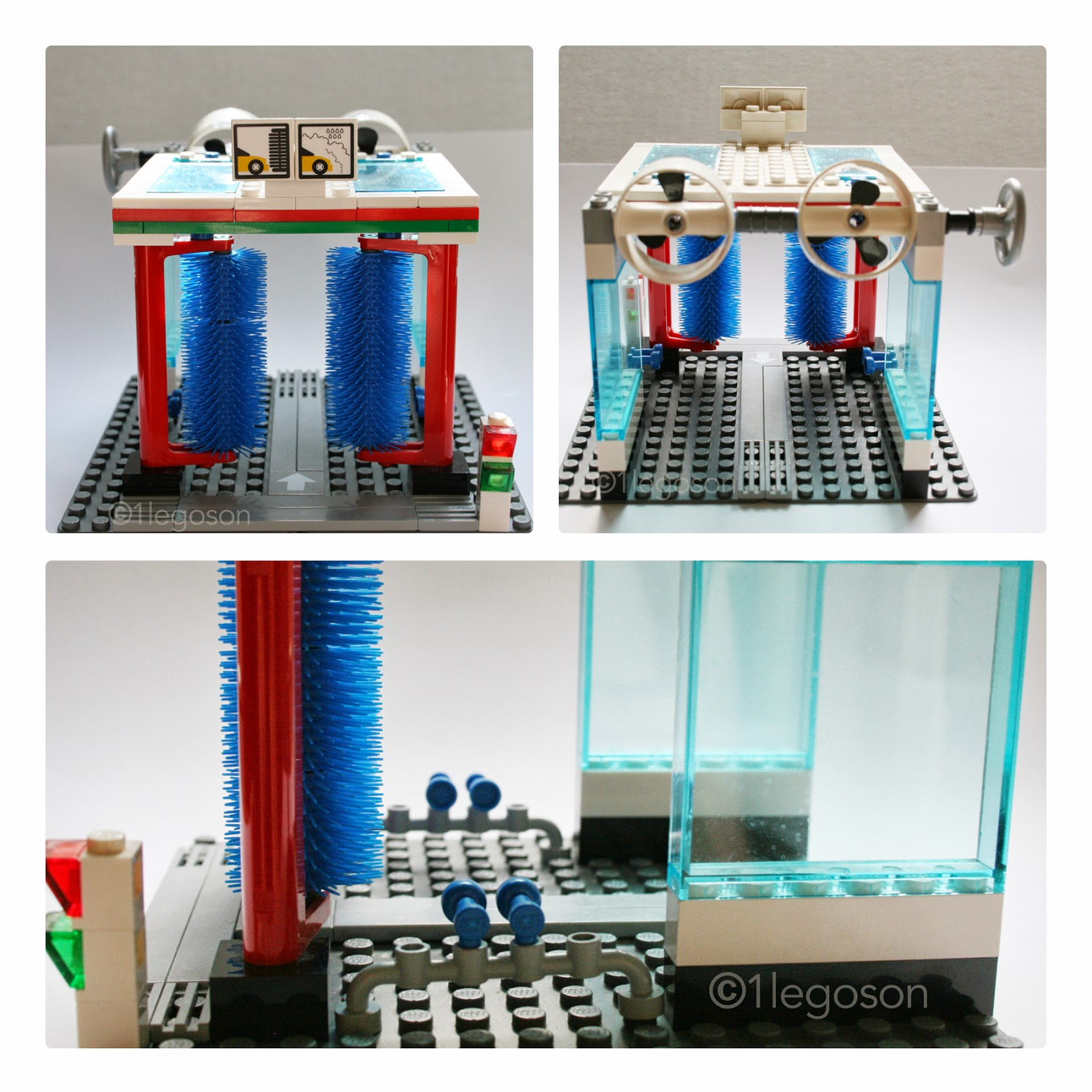 1legoson Creates Lego City The Gas Station Garage And Car Wash 7642 This Is I Think Its Really Cool Has Some Good Details