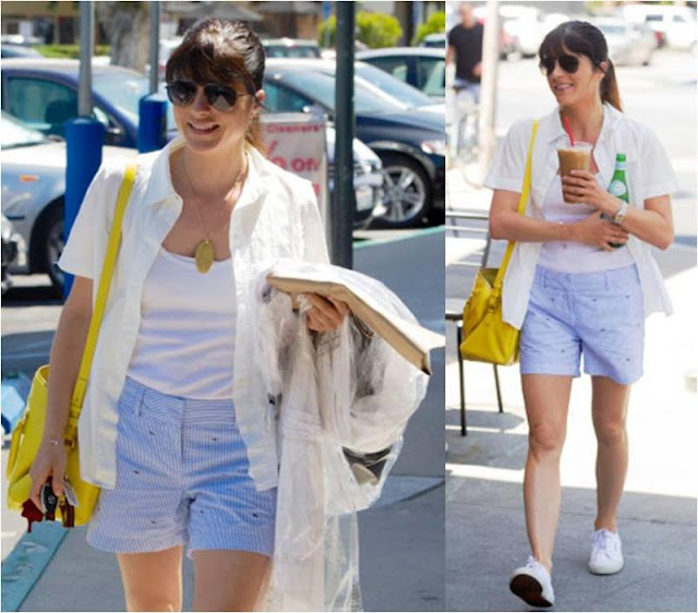Selma Blair in vineyard vines!