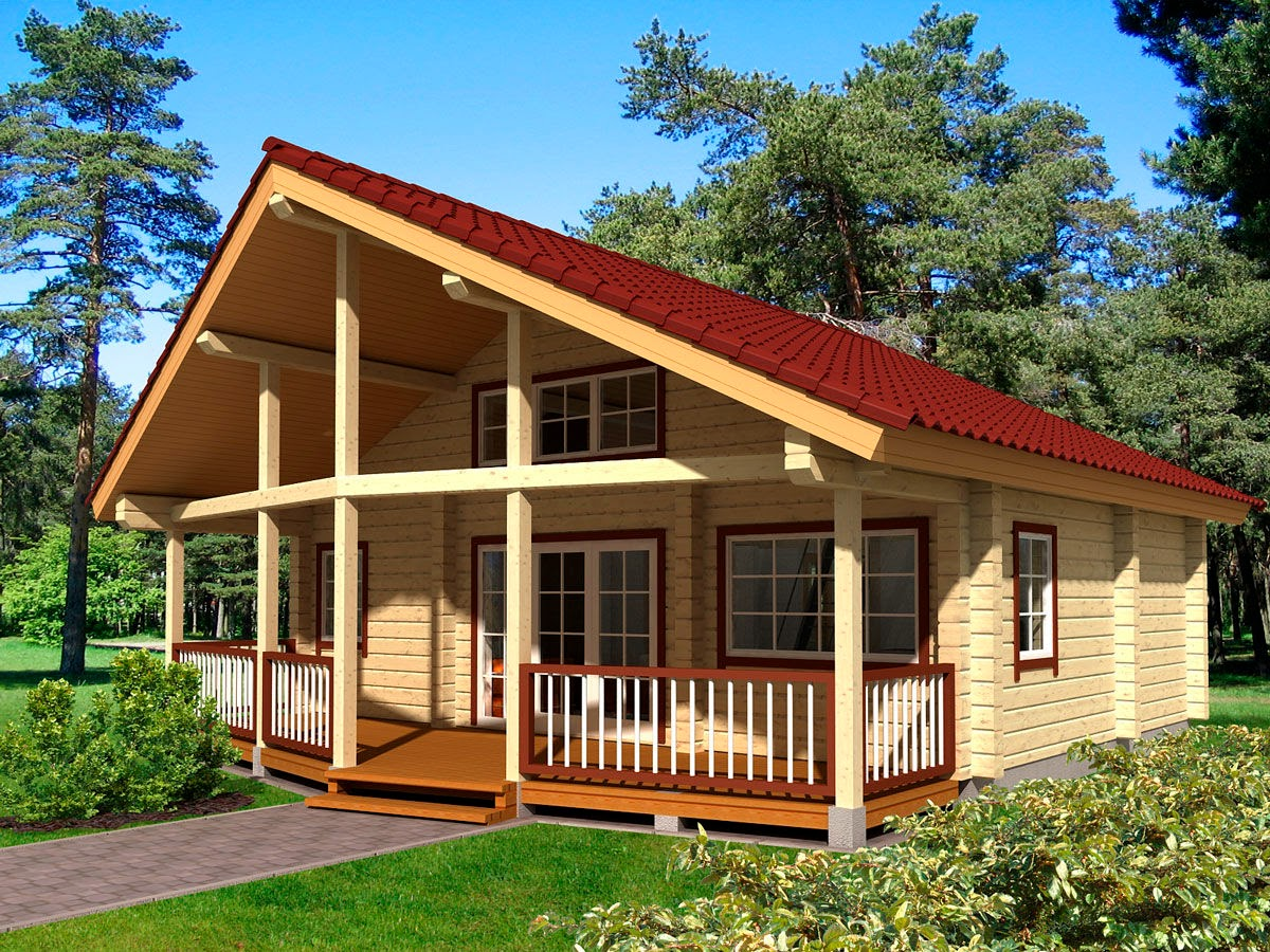 Monta ne ku e monta ne ku e u srbiji - Casa in legno su lastrico solare ...