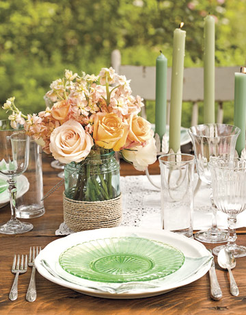Table settings set the mood A few of my outdoor faves