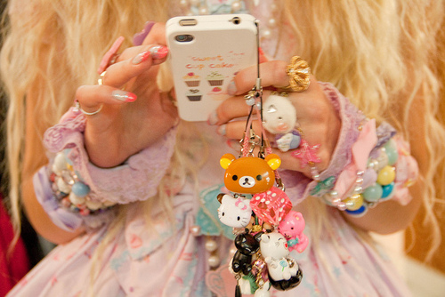 Decora Lolita Kawaii Cell Phone Charms