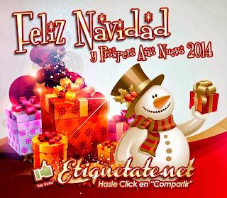 Frases De Año Nuevo: Feliz Navidad Y Próspero Año Nuevo 2014 Brssssss