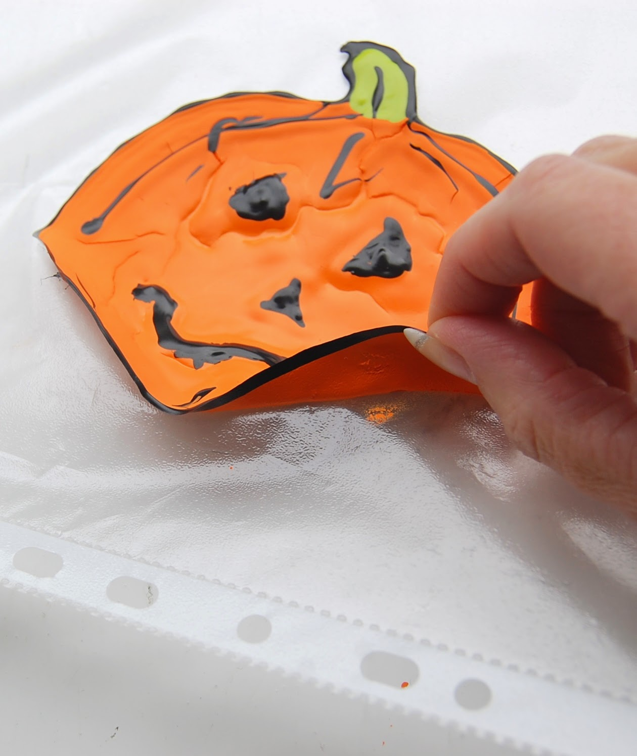 DIY Halloween And Christmas Window DecalsClingsStickers Using - Make your own window decal