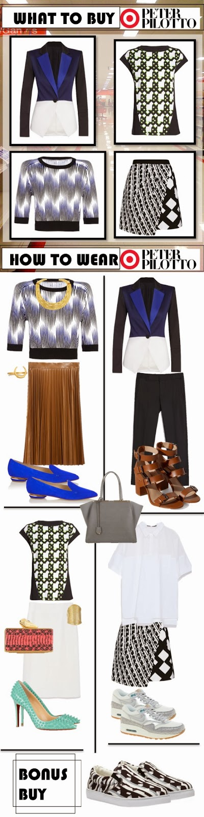 Peter Pilotto for Target on TheWellSet.com What to Buy <3 How to Wear <3