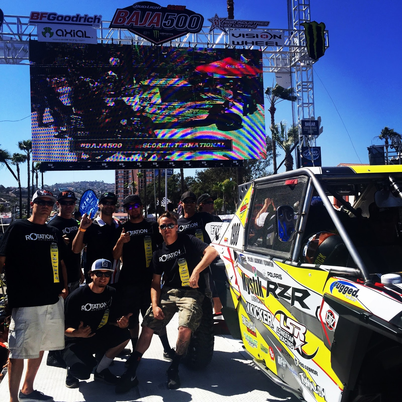 Mystik Lubricants To Dominate Off Road Racing With Rotation