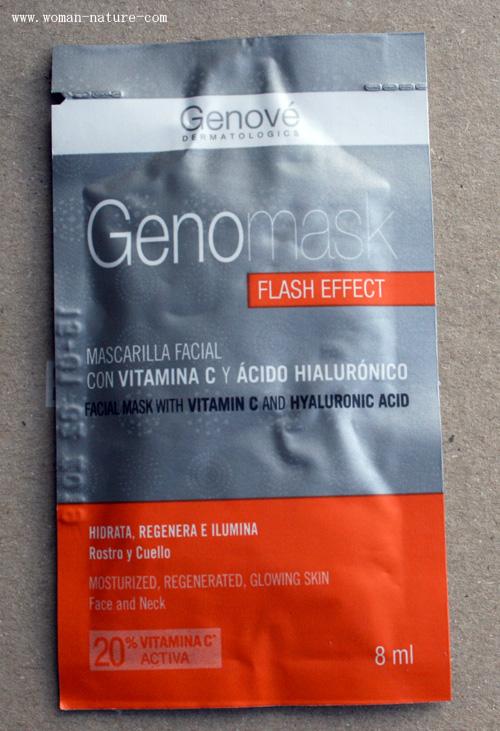 Genové vitamina C mascarilla