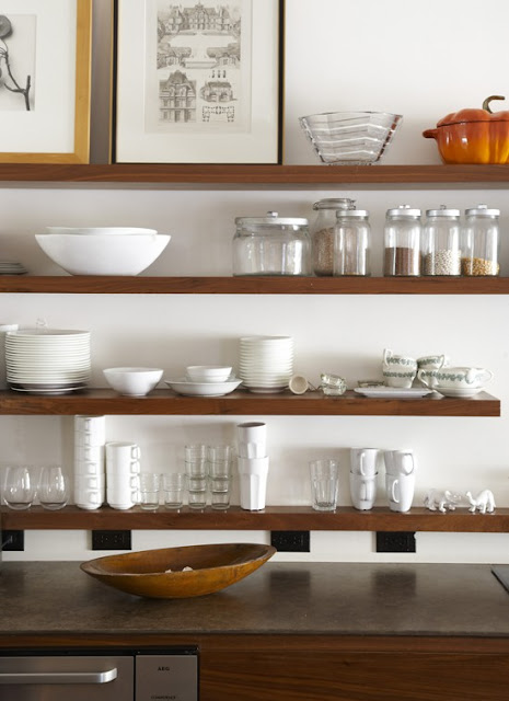 Open kitchen shelving kitchen decoration ideas pinterest for Open shelving kitchen ideas