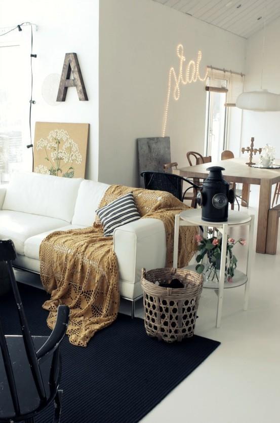Un rinc n de lectura ideal decorar tu casa es - Decorar un rincon del salon ...
