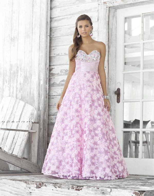 Vestido para Fiesta de Promoción de color Rosado : Vestidos para tu ...