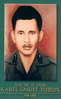 gambar-foto pahlawan Revolusi, AIP TL II ANM. Karel Sasuit Tubun