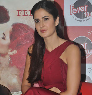 Katrina Kaif looks stunning in Maroon Gown at Fitoor Movie Promotions