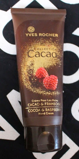 Yves Rocher Cocoa & Raspberry hand cream