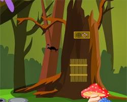 Juegos de Escape Escape with Golden Mushroom