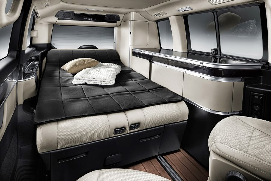 mercedes reveals the marco polo camper van autoesque. Black Bedroom Furniture Sets. Home Design Ideas