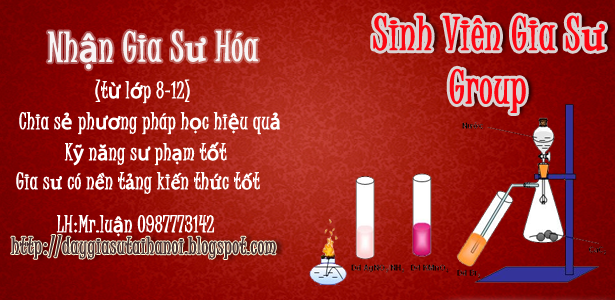 Gia sư Hóa tại Hà Nội