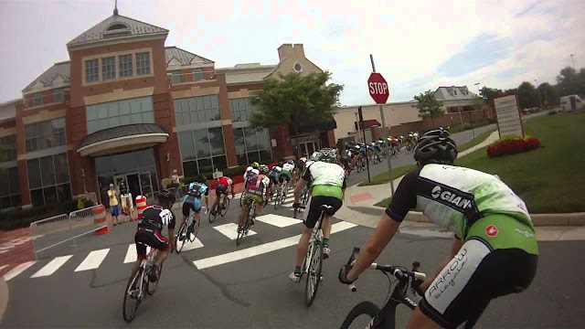 A bike race at the Brambleton Town Center is a fun thing to do in Loudoun County with the family.