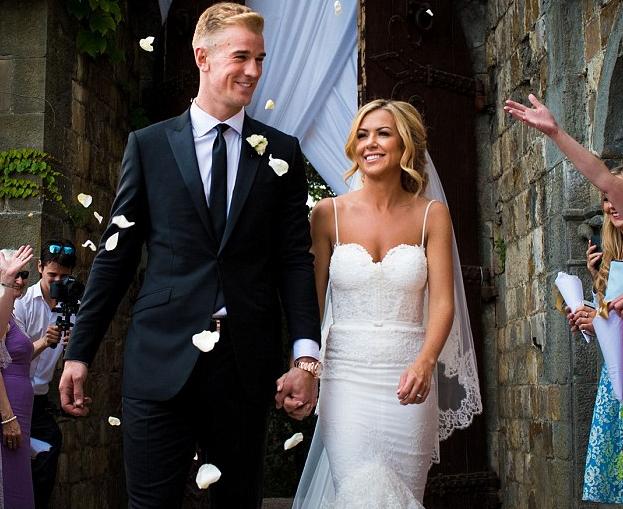 Suasana Bahagia Pada Pernikahan Joe Hart dan Kimberly