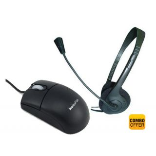 Optical Mouse & Headphones