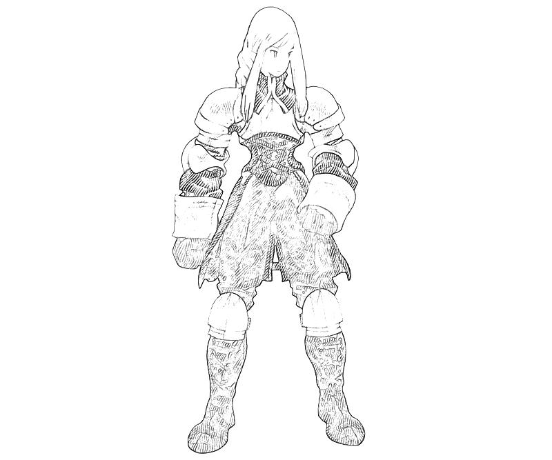 printable-agrias-oaks-armor-coloring-pages